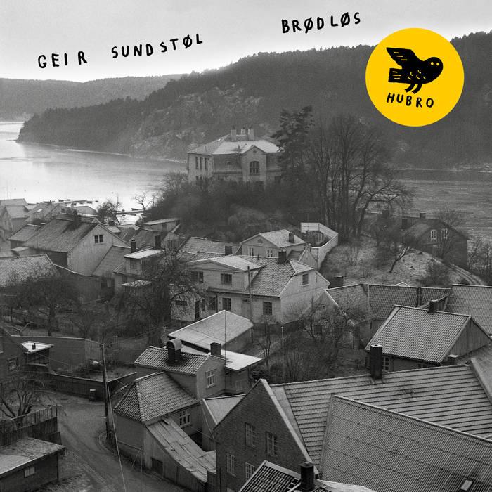 Brødløs, black-and-white photograph of coastal town